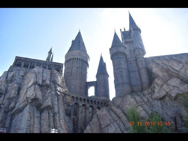 Hogwart Castle at Universal-islands of Adventure