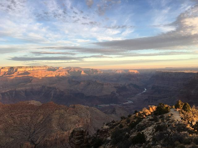 Sunrise at Grand Canyon South Rim