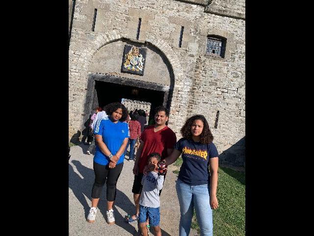 At Old Fort Niagara