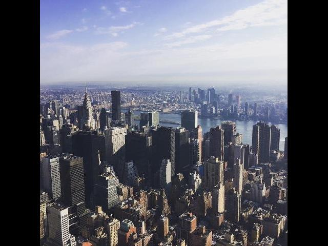Empire State Top View