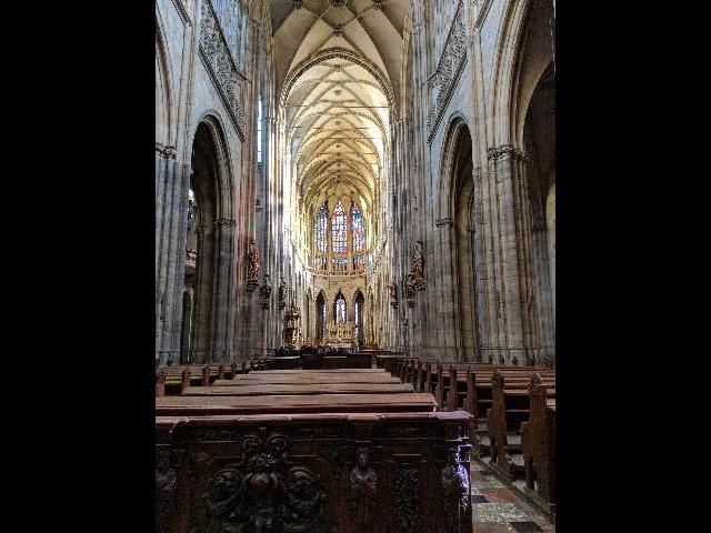 One of the many impressive cathedrals you'll visit