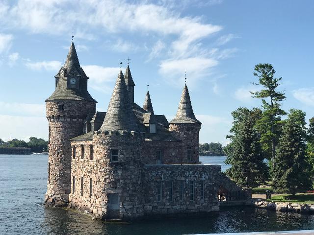 Boldt Castle on Thousand Islands