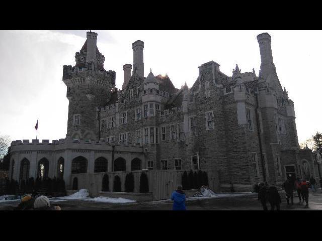 The castle at Casa Loma