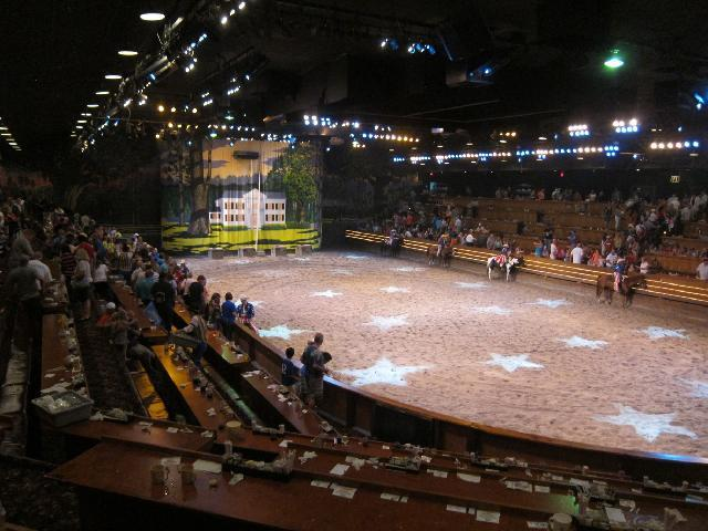 Dixie Stampede, Dinner Show, Dollywood, Pigeon Forge, TN