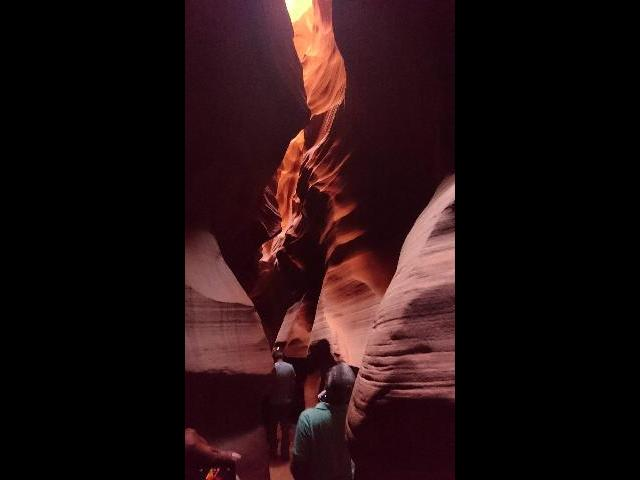 The Dragon Motif,in Antelope Canyon, a slot canyon in the American Southwest, on Navajo land east of Page, Arizona.