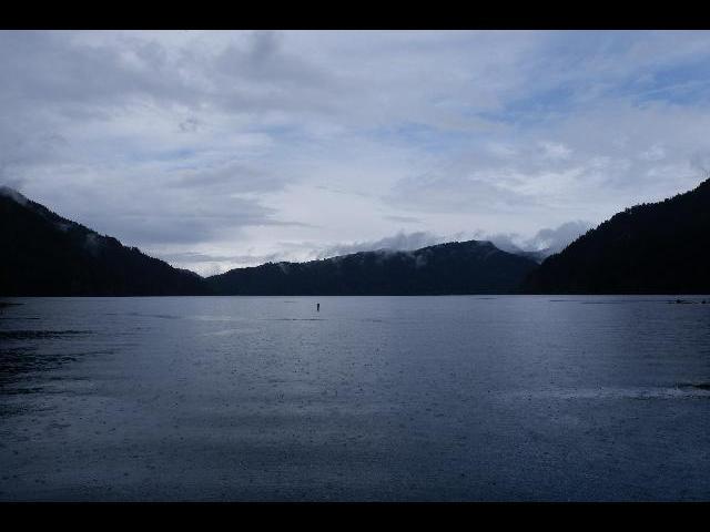 Lake at Olympic National park