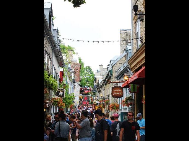 Lower town Quebec City