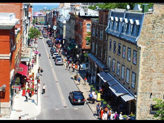 Upper town Quebec City
