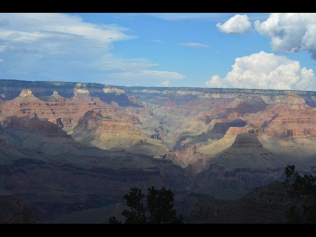 Grand Canyon South Rim, View from mather point