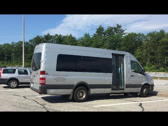The tour van our small group took on the PEI tour.