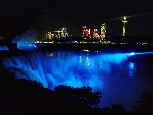 Niagara Falls, New York Night View