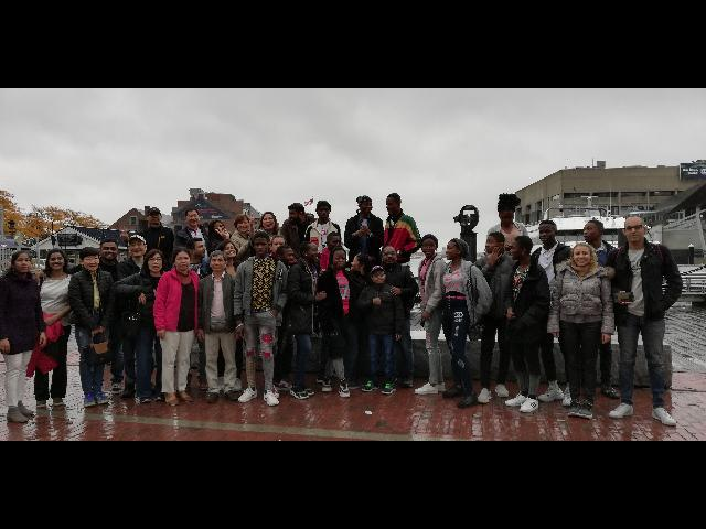 Group Photo - Boston Harbor