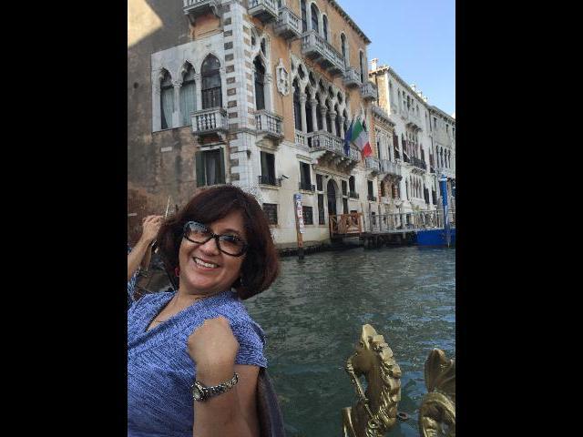 Gondola Ride-Venice, Italy