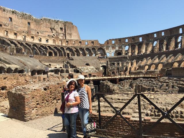 Colleseum, Vatican city, Italy