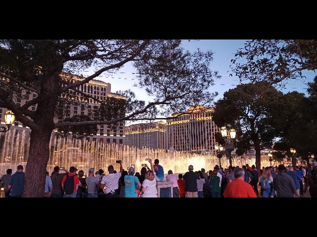 Dancing Fountain, Bellagio Hotel in Las Vegas