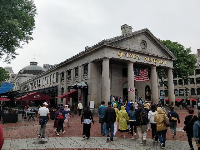 Quincy Market where we had our lunch