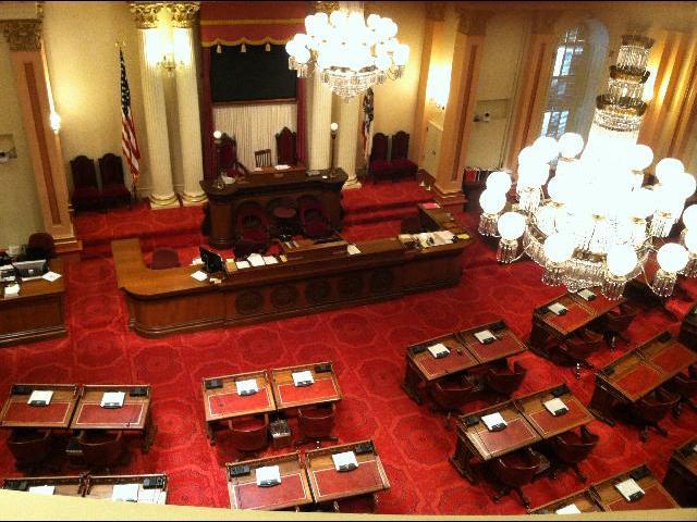 California State Senate Chamber Gallery