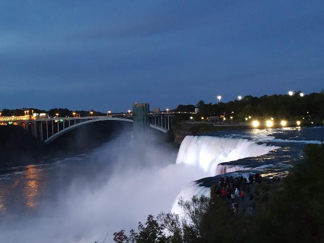 American Falls Night View