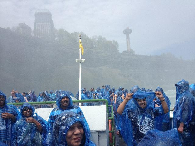 From Maid of the Mist boat!