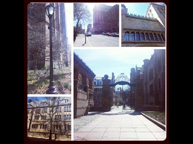 Walking around Yale University!