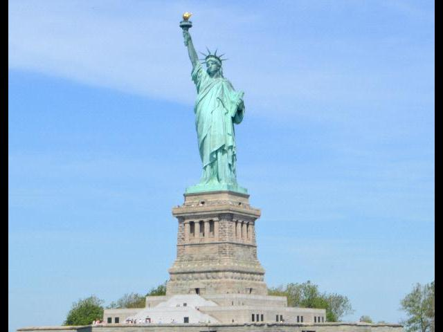 Statue of Liberty from Cruise