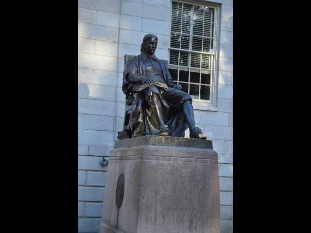 Harvard statue