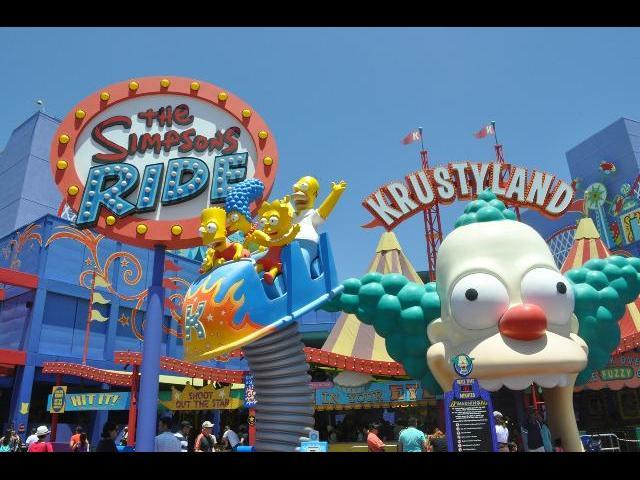The Simpson's Ride