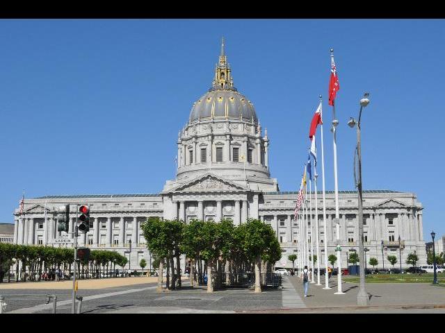 The Center of Golden Gate!