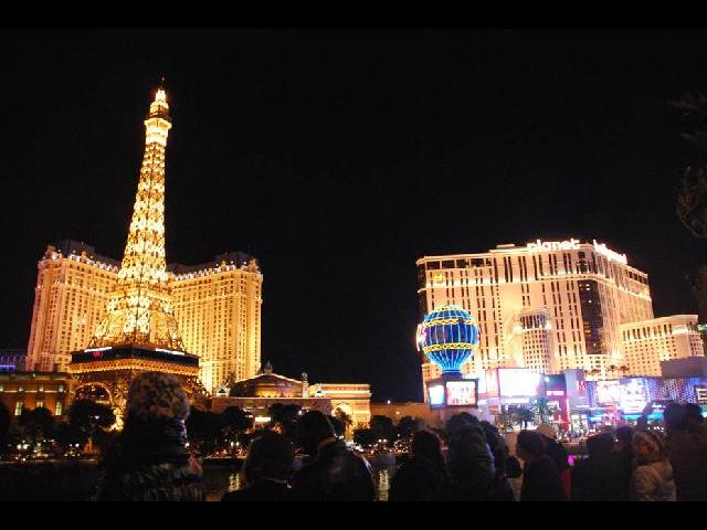 Las vegas, city of lights and magic
