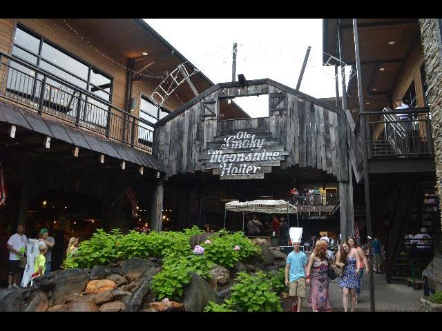 Ole Smoky Moonshine Distillery in the city of Gatlinburg, Tennessee USA