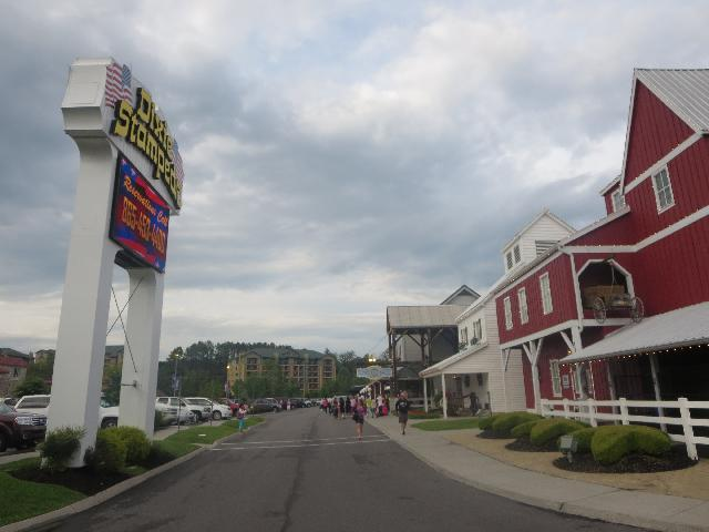 Dolly Parton's Dixie Stampede Dinner Attraction in Pigeon Forge City, Tennessee USA