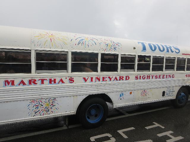 Martha's Vineyard Island Sightseeing Bus Tour in Massachusetts USA