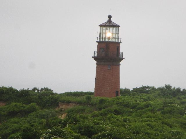 Gay Head Lighthouse on Martha's Vineyard Island in the town of Aquinnah Massachusetts USA