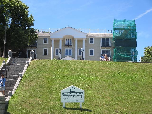 The Pilgrim Hall Museum in Plymouth, Massachusetts USA