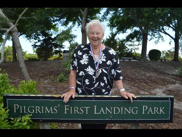 Visiting the Pilgrims' First Landing Park of 1620 in Provincetown, Cape Cod, Massachusetts USA