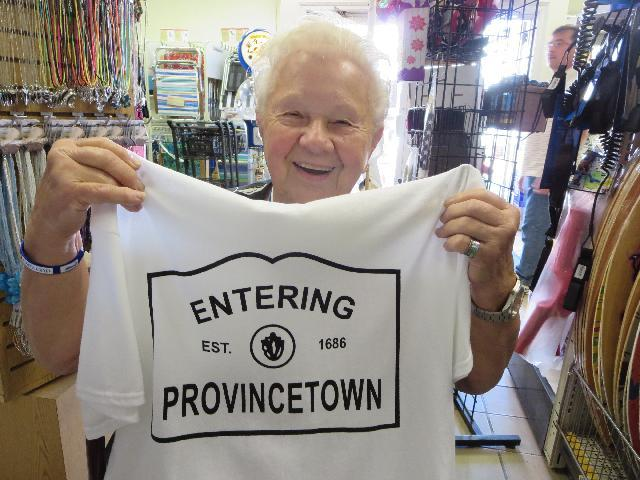 Entering Provincetown est. 1686 in Cape Cod, Massachusetts USA