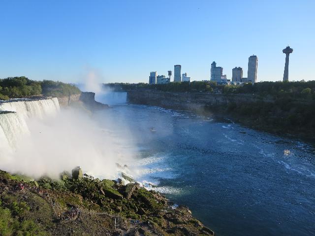 Niagara Falls as seen from the USA
