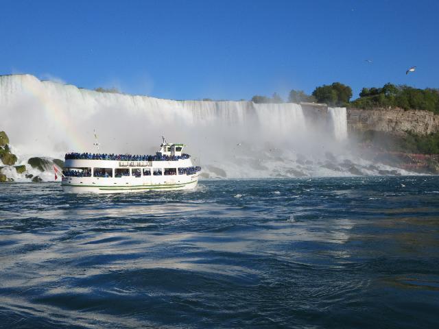 Boat ride at Niagara Falls