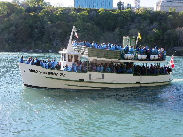 Niagara Falls Maid of the Mist boat ride