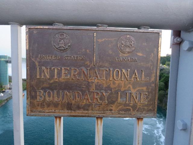 Canada, United States Boundary Line
