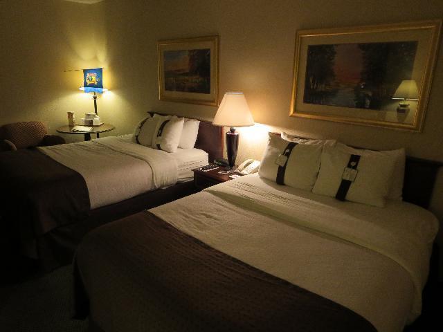 Holiday Inn Hotel Room in Rochester, New York