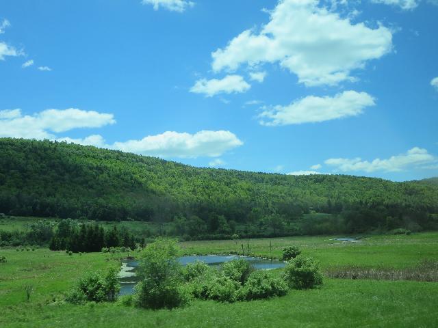Finger Lakes in Watkins Glen, New York, USA
