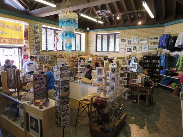Watkins Glen State Park Gift Shop, Finger Lakes, New York, USA