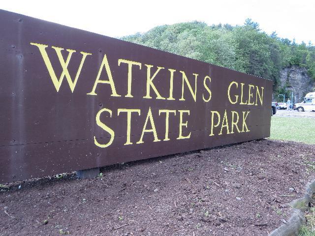 Watkins Glen State Park, Finger Lakes, New York, USA