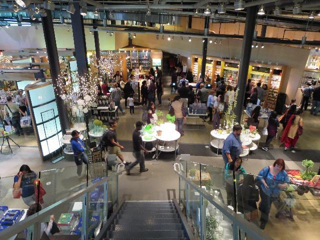 The Corning Museum of Glass gift shop in Corning, New York