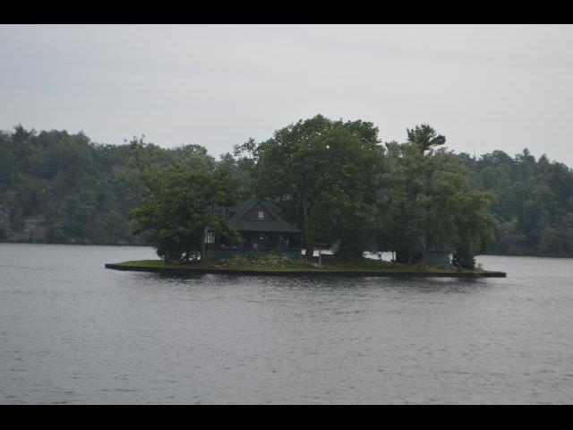 Island home of the 1000 Islands in the St. Lawrence River