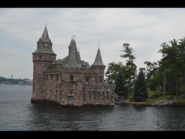 Boldt Castle, Power house on Heart Island of the Thousand Islands, Saint Lawrence River