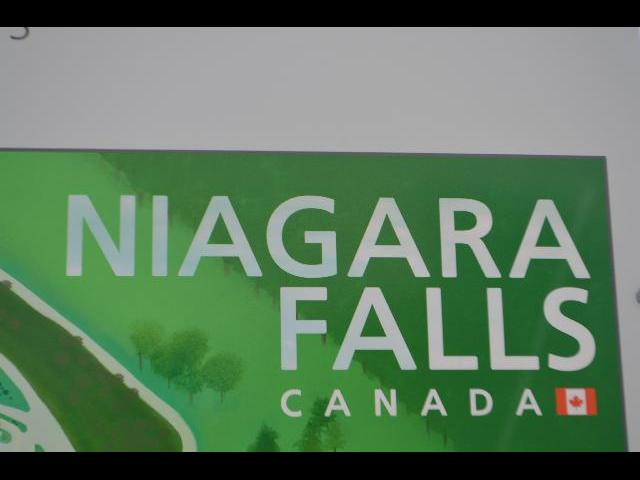 Niagara Falls, Horseshoe Falls, in Ontario, Canada