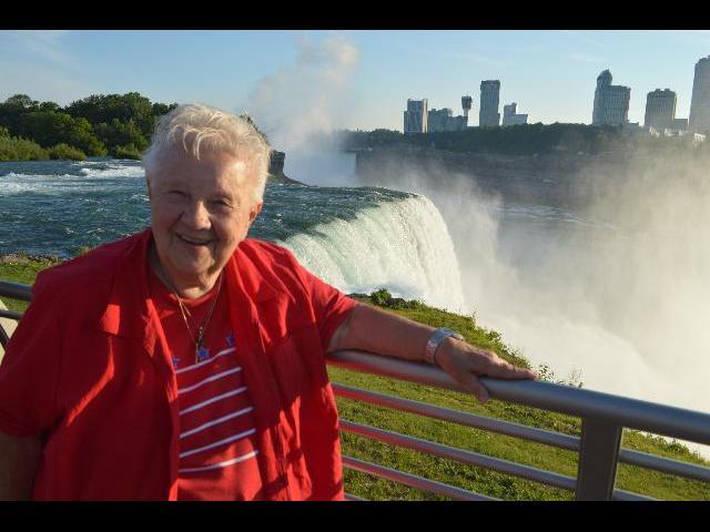 Visiting Niagara Falls State Park, New York, USA United States of America
