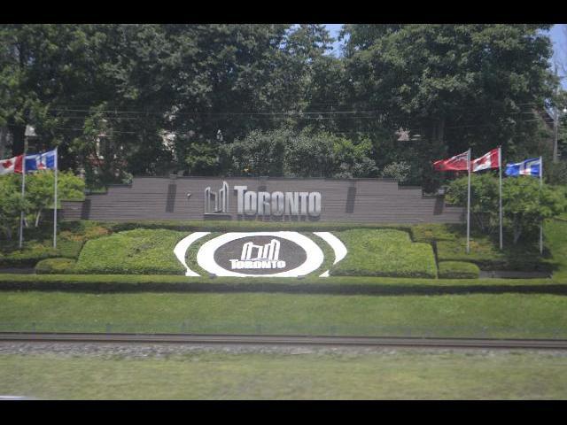 Entrance to the City of Toronto, Ontario, Canada